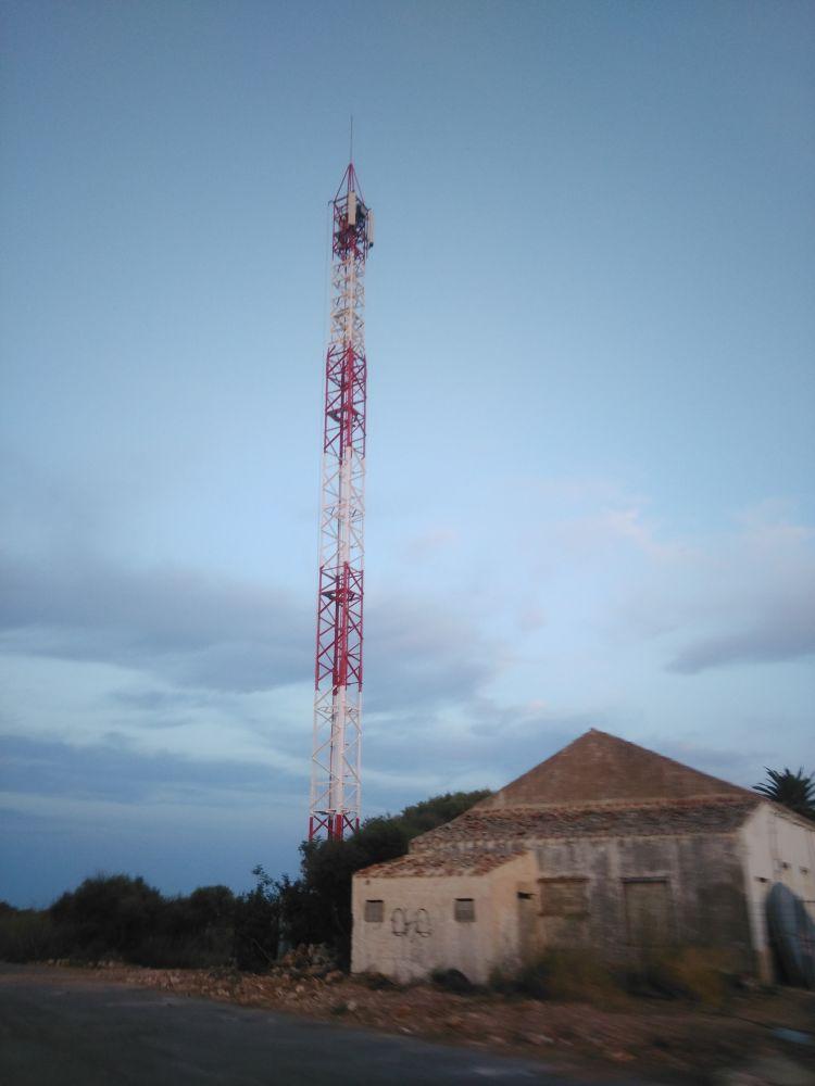 Antena en San Luis