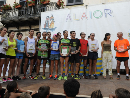 (Fotos) Rafel Quintana y Cristina Juan se imponen en la carrera popular de Sant Llorenç