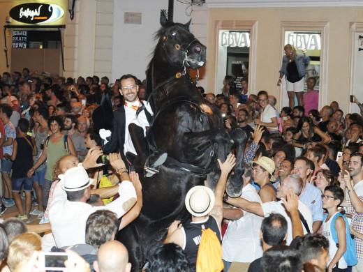 Todas las fotos del primer jaleo de las fiestas de Sa Mare de Déu de Gràcia