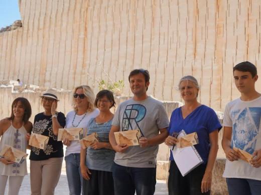 (Fotos) Laberintos y padrinos en Líthica