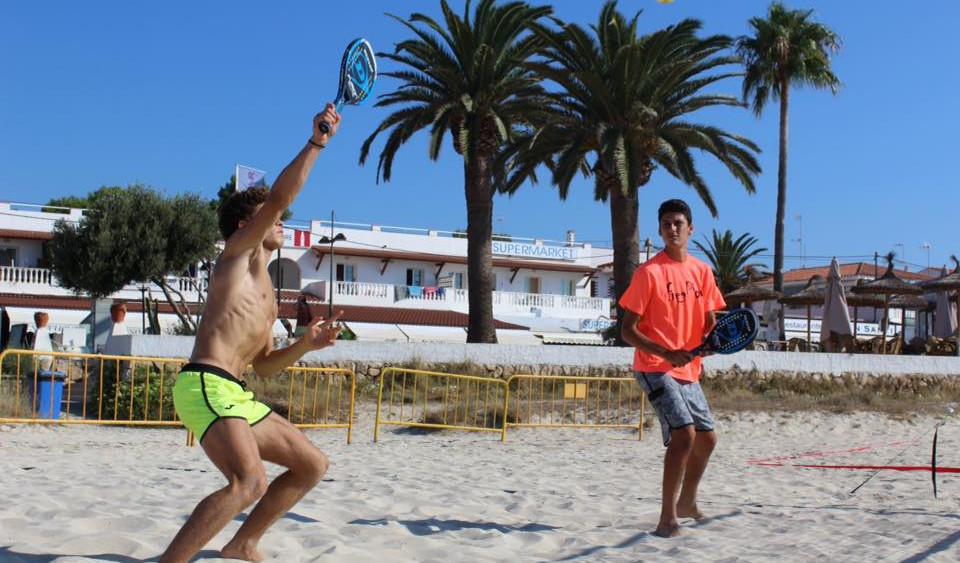 Imagen de un partido de categoría masculina (Fotos: Free Play)
