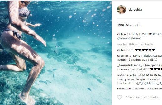 Dulceida se engancha a Menorca: elige la isla para comenzar su luna de miel