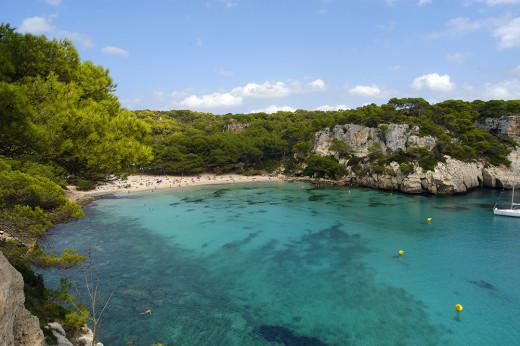 Playa menorquina.