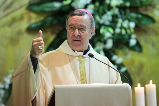 Eñ administrador apostólico de Mallorca y obispo auxiliar de Barcelona, Sebastià Taltavull.