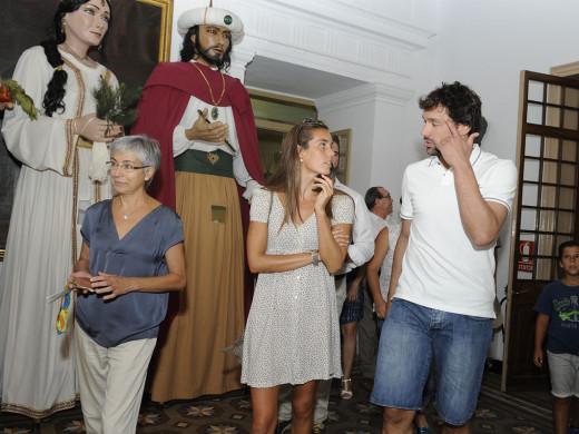 (Galería de fotos) Maó honra a Sergi Llull
