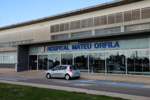 Los cinco evacuados están en el Hospital Mateu Orfila.