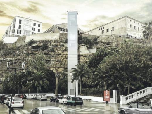 Maó tendrá un nuevo ascensor para unir el Claustre del Carme y el puerto