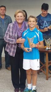Felipe Virgili, el otro vencedor.