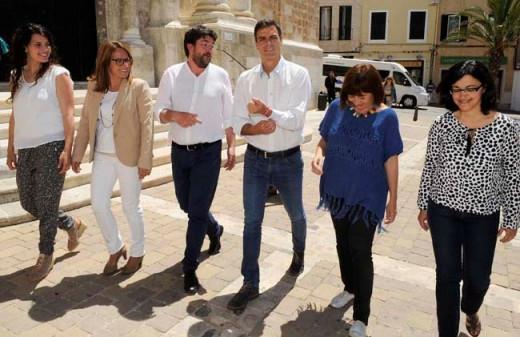 Vicenç Tur quiere recomponer la unidad del PSOE tras la marcha de Pedro Sánchez pero mantiene el No a Rajoy.
