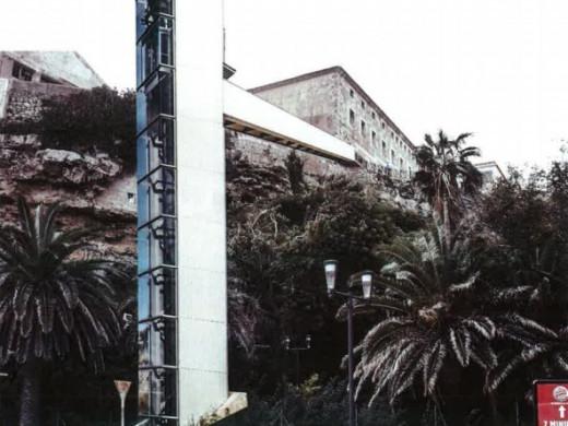 Todos los proyectos que se descartaron para el nuevo ascensor del puerto de Maó