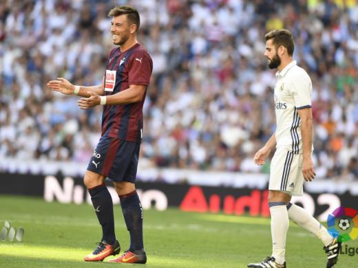 (Fotos) Gesta del Eibar de Sergi Enrich en el Bernabéu
