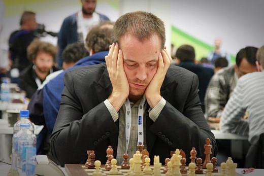 Paco Vallejo, durante una partida.