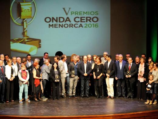(Fotos) Onda Cero destaca a los mejores de Menorca