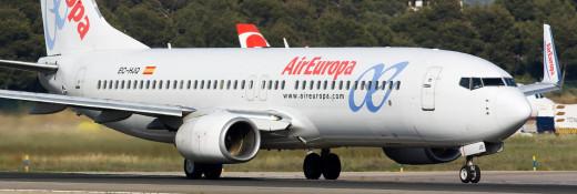 Avión de Europa.