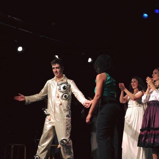 Carlos Llabres en su primera representación de Gradiva