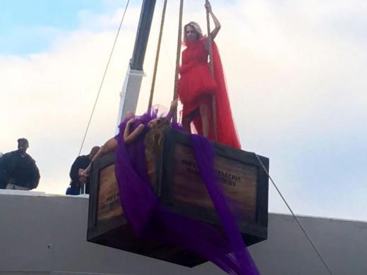 """La modelo Heidi Klum desembarca en Menorca con su concurso """"Germany's Next Topmodel"""""""