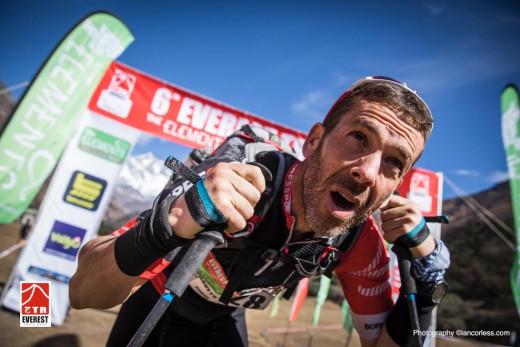 Raül Riudavets, en un momento de la quinta etapa (Foto: Ian Corless)