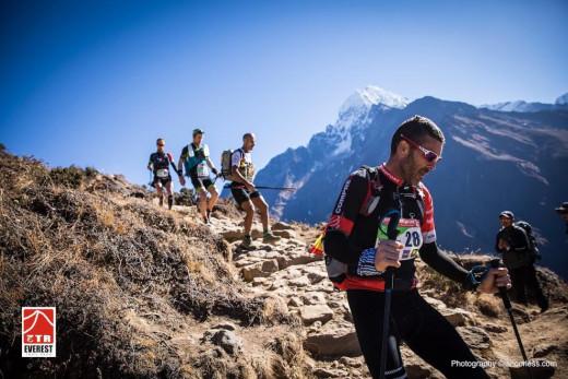 Raül Riudavets, en un momento de la última etapa (Fotos: Ian Corless)