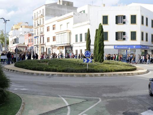 (Galería de imágenes) Todas las fotos sobre la manifestación del 24N contra la LOMCE en Menorca