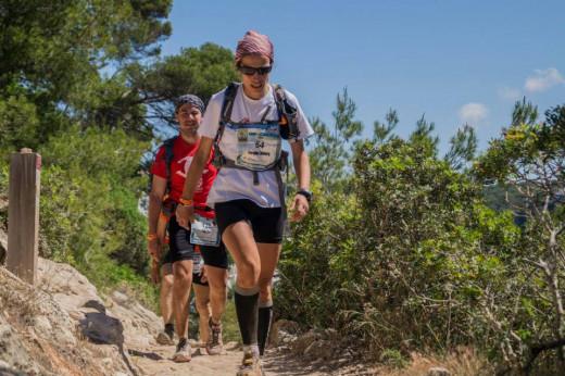 Imagen de una reciente Trail Menorca Camí de Cavalls.