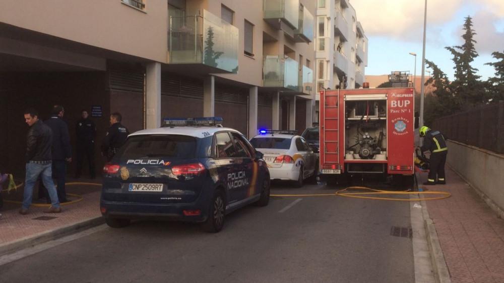 (Avance) Incendio en Sínia Morera
