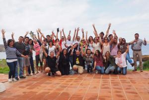 Participantes en el primer instameet oficial celebrado en Menorca.