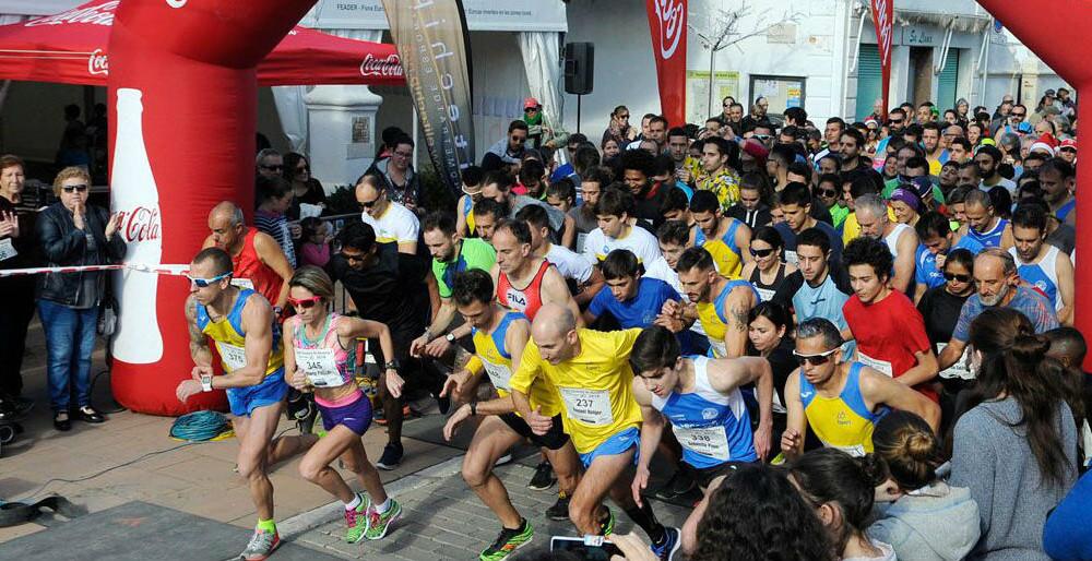 Momento de la salida de la carrera absoluta (Fotos: Tolo Mercadal)