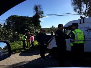 Imagen tomada instantes después de la colisión. (Foto: Juan Torres).