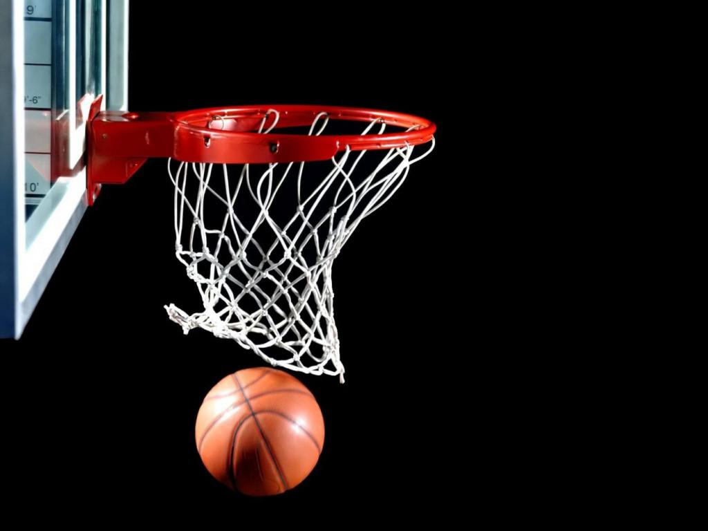 Canasta de baloncesto.