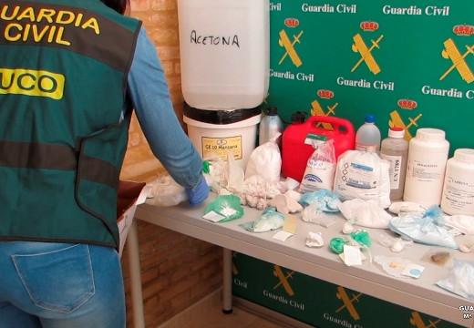 Desarticulan en Menorca una red que transportaba sacos con cocaína y los localizaba mediante GPS