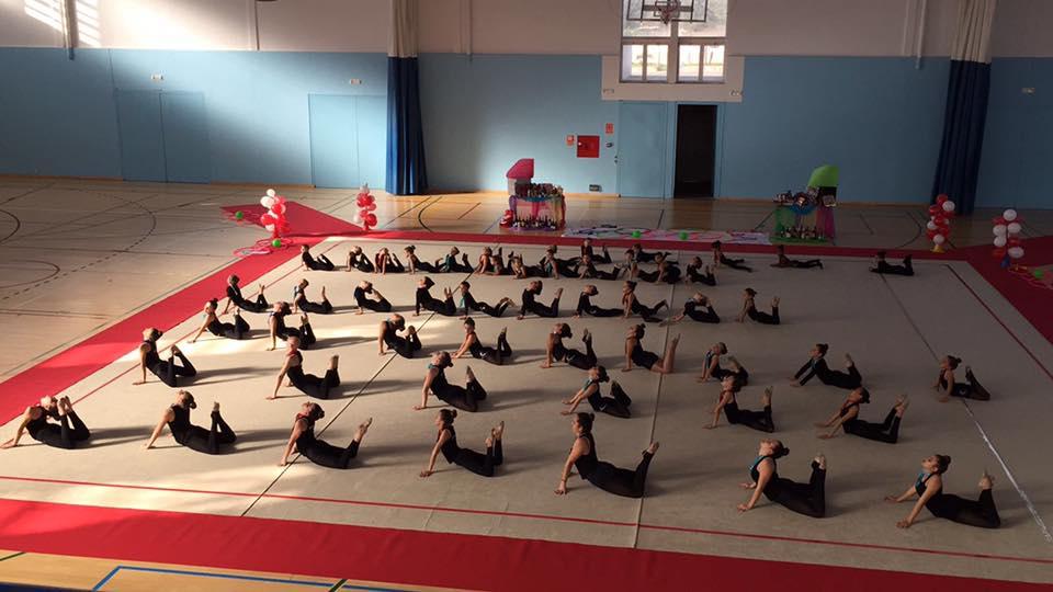 Actividad de gimnasia