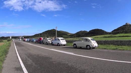 Los 600 llenaron las carreteras de la isla.