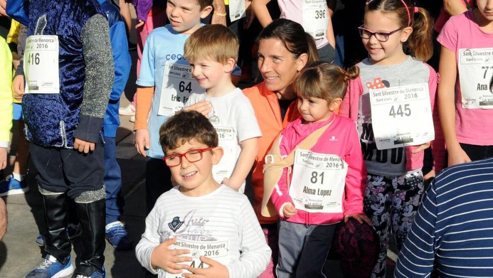 Gran participación en la Sant Silvestre.