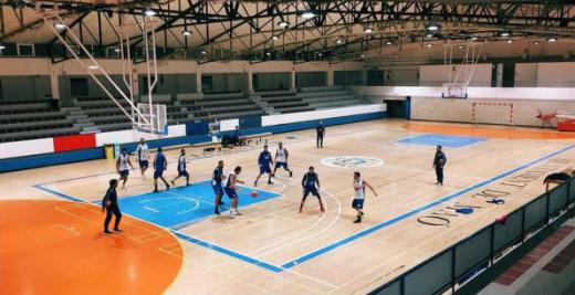 Entrenamiento del miércoles del Made in Menorca en el polideportivo de Maó (Foto: Bàsquet Menorca)