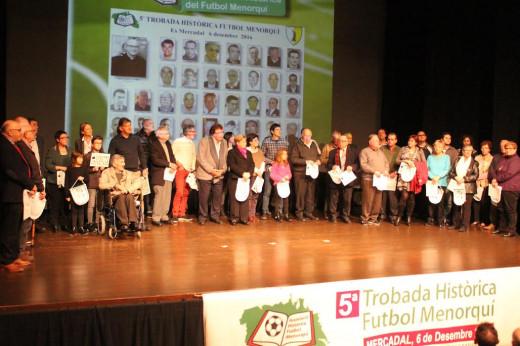 Imagen de la relación de los premiados (Fotos. deportesmenorca.com)