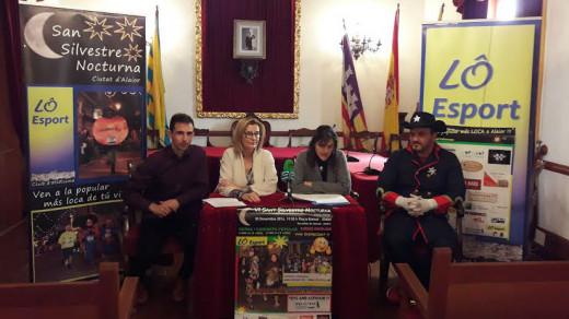 Momento de la presentación del evento en el Ajuntament d'Alaior.