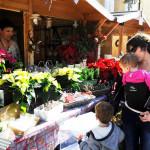 Todos los productos típicos de estas fiestas ya se pueden adquirir en la feria de Maó que estará abierta hasta el día 8. (FOTOS: T.M.)
