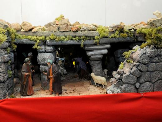 (Fotos) Maó ya dispone de sus tradicionales dioramas