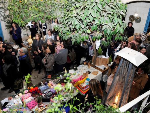 (Fotos) Feria navideña en el Jardí de ses Bruixes