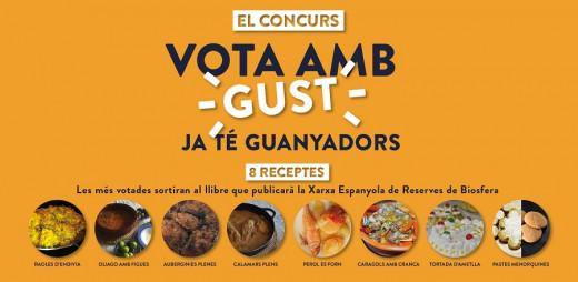 Los votos han permitido seleccionar las ocho recetas más representativas.