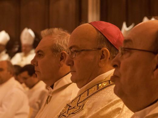 (Fotos) La visión del obispado de la ordenación de monseñor Conesa