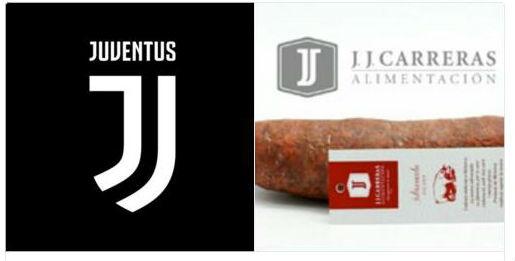 Comparativa de los dos logotipos.