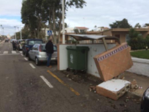 (Vídeos y fotos) S'Algar despierta tras el fragor del temporal