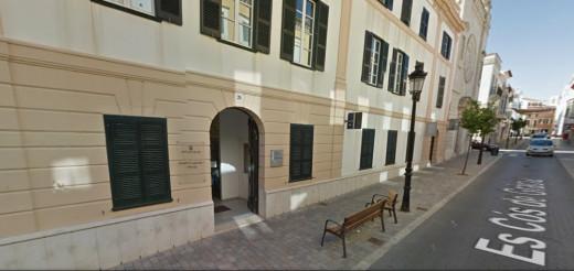 Imagen en Google Maps del geriátrico de Maó.