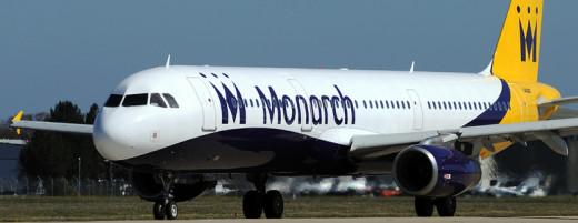 Avión de la compañía Monarch.