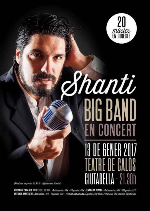 Shanti se pone gomina para un concierto diferente a su habitual rock sinfónico