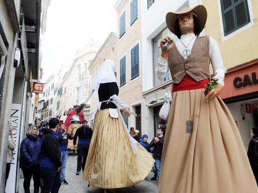 Maó vive los primeros actos de Sant Antoni