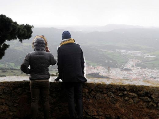 (Vídeo) Nieva en Monte Toro, pero no cuaja