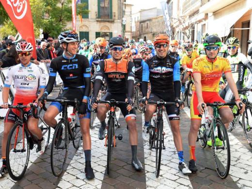 Albert Torres entra en el grupo de cabeza de la Challenge Ciclista Mallorca