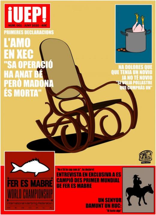 """Simulación de la portada realizada por """"Formatjada Project""""."""